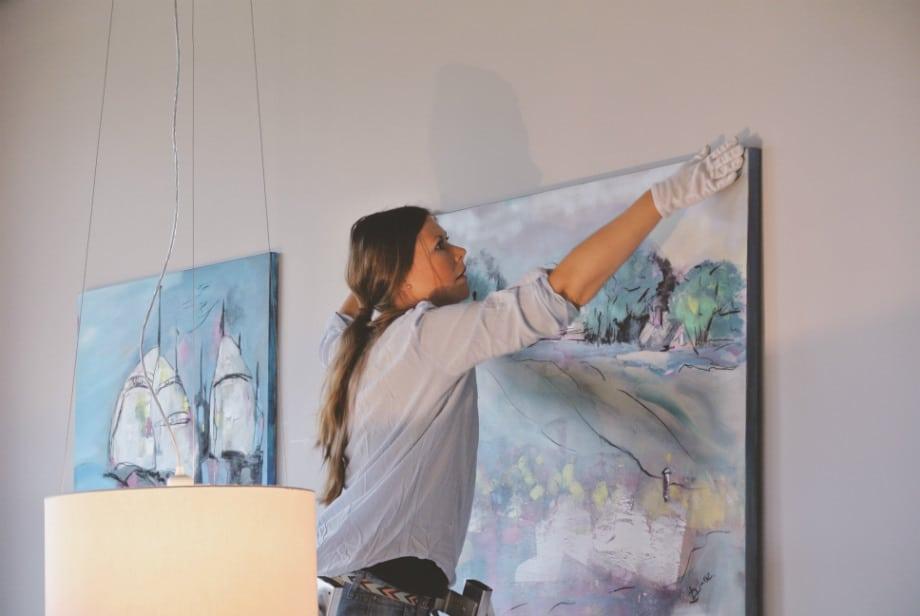 Kunst im Club – Ausstellung bei ROBINSON