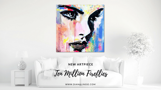 New Artpiece: Ten Million Fireflies