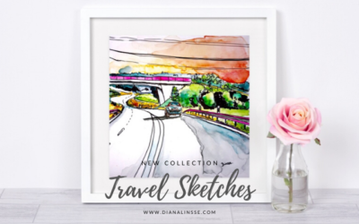 New Collection – Travel Sketches