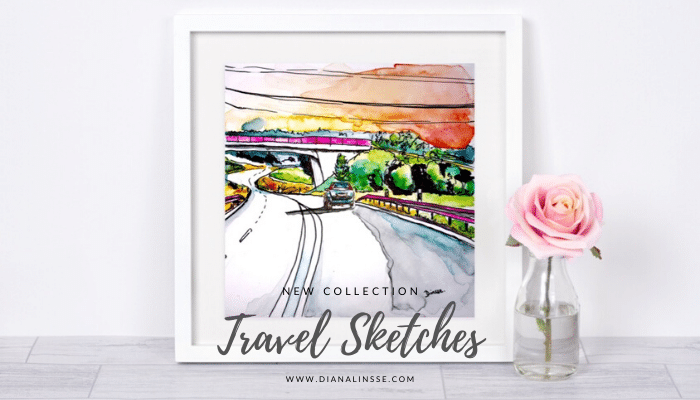 Neue Kollektion – Travel Sketches