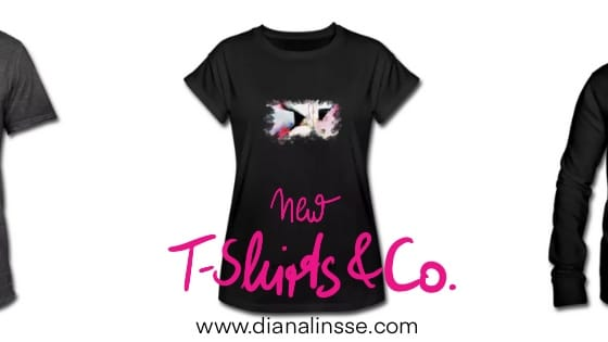 New Shirt Shop - Shirt Designs by Diana Linsse