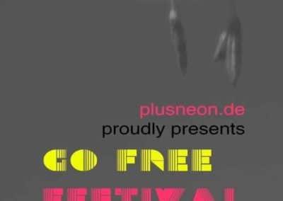 Programm Go Free Art Festival 20. und 21. Oktober Nürnberg U2 Nordostbahnhof