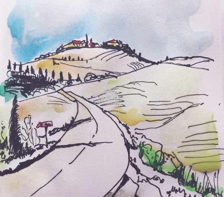 Anleitung Urban Sketching – Plein Air Painting