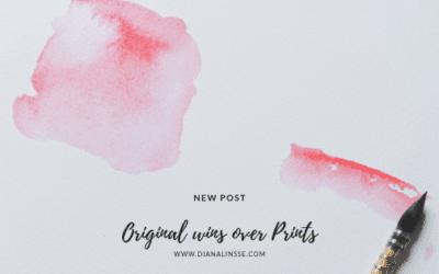 4 gute Gründe für Originalkunst anstelle von Kunstdrucken
